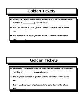 Golden Ticket Behavior Report
