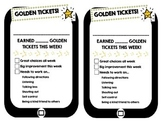 Golden Ticket Behavior System