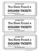 Golden Ticket Library/Classroom Printable