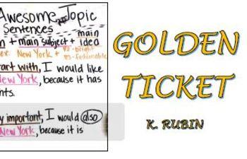 Golden Ticket STAAR Writing