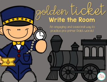 Golden Ticket Write the Room