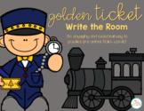 Golden Ticket Write the Room
