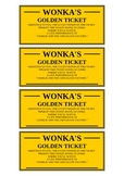 Golden Ticket (editable)
