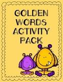 Golden Words Activity Pack