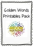 Golden Words Pack