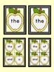 Golden Yellow Apple  Fry First 100 Sight Word Flashcards a