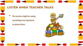 Golden (classroom) Rules Slide Show