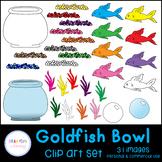 Goldfish Bowl Clip Art