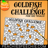 Goldfish Challenge for 100 Repetitions by Peachie Speechie