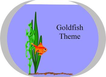 Goldfish Classroom Theme