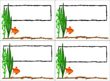 Goldfish Classroom Theme Bundle