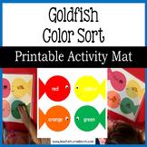 Goldfish Color Sort (Lower Elementary - NO PREP, Print & Go)