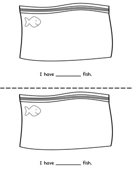 Goldfish Counting Book