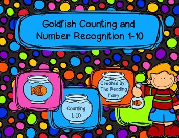 Counting Goldfish Center: Numbers 1-10