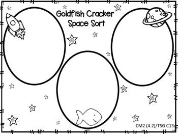 Goldfish Cracker Space Sort