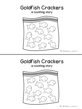 Goldfish Crackers Counting Book