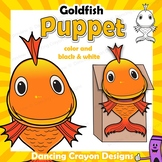 Goldfish Craft Activity | Fish Puppet