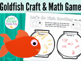 Goldfish Craft & Math Game: Pre-K, Transitional Kinder, & Kinder