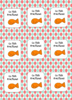 Go fish Fractions