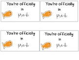 Goldfish Gift Tags