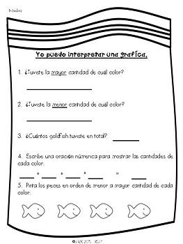 Goldfish Graph Spanish- Grafica de Goldfish