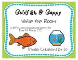 Goldfish & Guppy Write the Room (Animals 2x2)