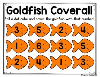 Goldfish Math Activities