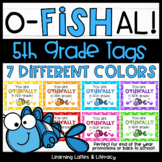 Goldfish Ofishally In Fifth Grade Tags End of Year Beginning of Year Open House