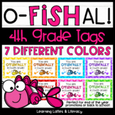Goldfish Ofishally In Fourth Grade Tags End of Year Beginning of Year Open House