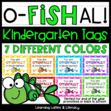 Goldfish Ofishally In Kindergarten Tags End of Year Beginning of Year Open House