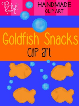 Goldfish Snacks Clip Art