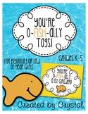 Goldfish Tag: O-fish-ally a Kindergartner-5th Grader