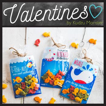 Goldfish Valentine
