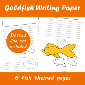 Goldfish Writing Paper