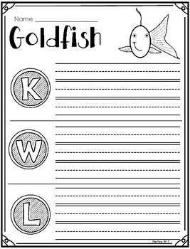 Goldfish and Guppies (Animals 2x2) Supplement Printables