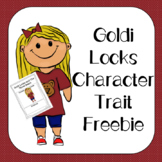 Goldi Locks Character Traits Freebie