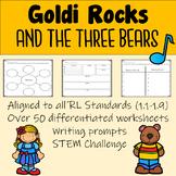 Goldi Rocks and the Three Bears. A Twisted Fairy Tale Companion Pack
