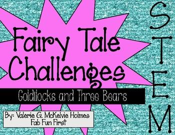 Goldi and the Three Bears STEM Challenge