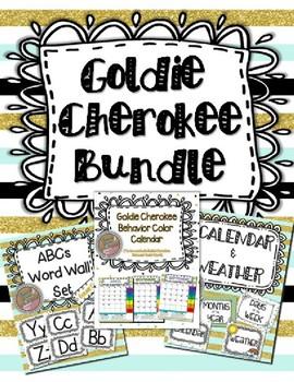 Goldie Cherokee Classroom Decor & Management Tools Bundle