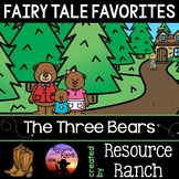 The Three Bears Reader and Worksheets