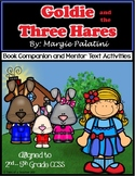 Goldie and the Three Hares Book Companion and Mentor Text Activities
