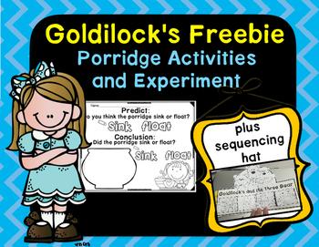 Goldilocks Day Freebie!