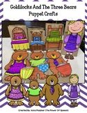 Goldilocks And The Three Bears Puppet Crafts