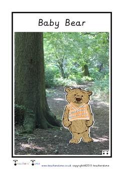Goldilocks Character Cards
