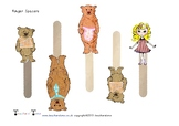 Goldilocks Character Finger Space Prompts