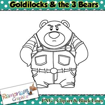 Goldilocks Clip art