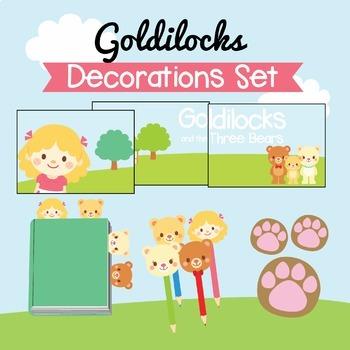Goldilocks Decorations Set
