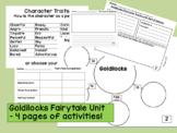 Goldilocks Fairytale Comparison Unit