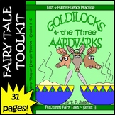 Goldilocks Fractured Fairy Tale Readers' Theater Script, Vocab & More-Grades 3-6
