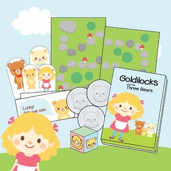 Goldilocks Game Board Play Set